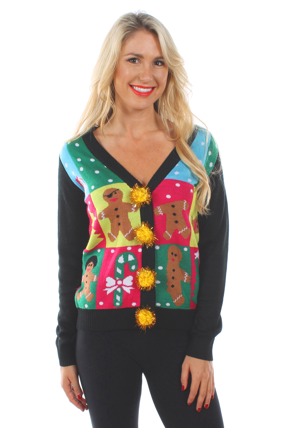 cardigan sweaters for women ugly patchwork cardigan | tipsy elves UNFLSKP