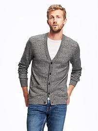 cardigans for men button-front v-neck cardigan for men CAADBYH