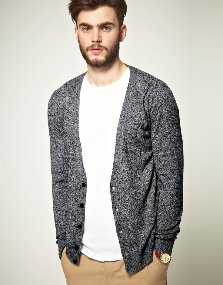 Warm and cozy cardigans for men