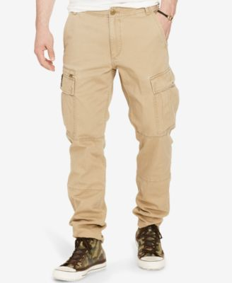 cargo pants for men denim u0026 supply ralph lauren menu0027s slim-fit chino cargo pants HKEBLIO