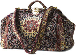 carpet bags a creative idea HZEQJOO