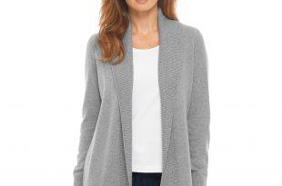 cashmere cardigan classic cashmere sweater, open cardigan MIURNIN