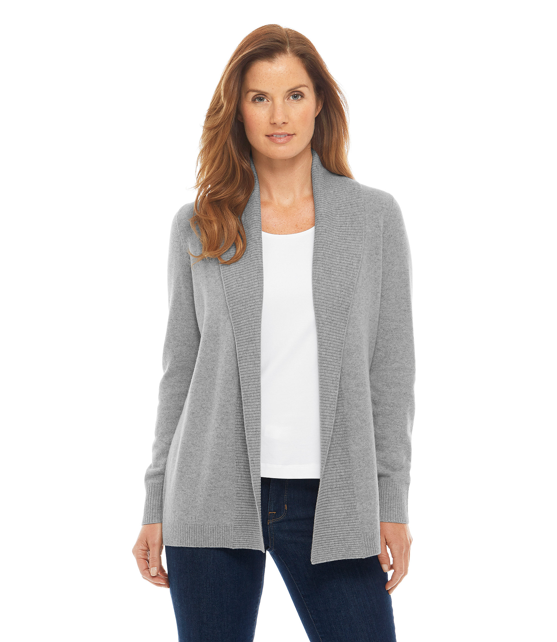 The cashmere cardigan people's choice