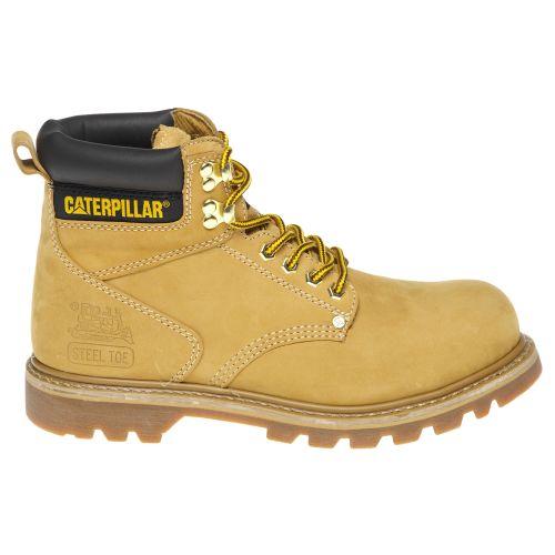 cat shoes cat footwear menu0027s second shift steel toe work boots | academy GZEKBAK