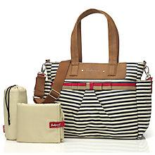 changing bags ... buy babymel cara changing bag, navy stripe online at johnlewis.com ATKYCOY