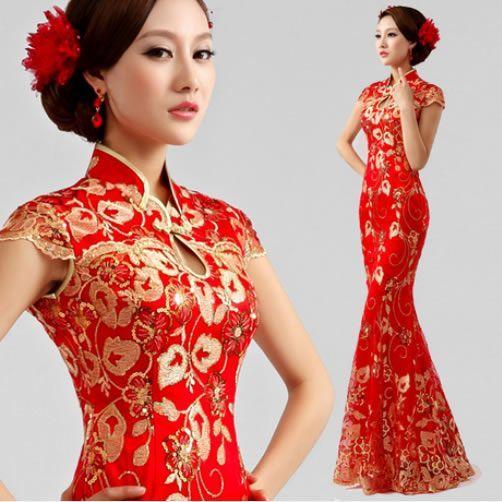 chinese wedding dress fabulous chinese traditional wedding dresses ZQLCYOD