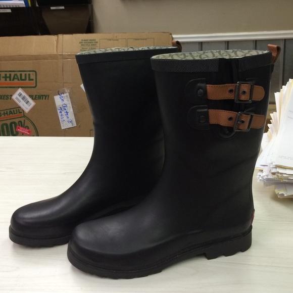 chooka rain boots chooka black double strap rain boots DTOUNOP