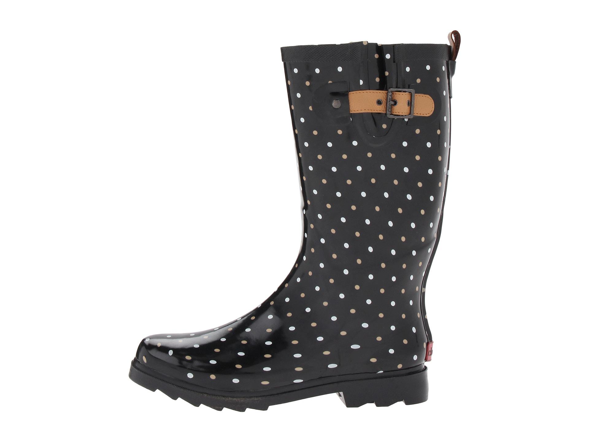 chooka rain boots chooka classic dot rain boot at zappos.com FAWQRMX