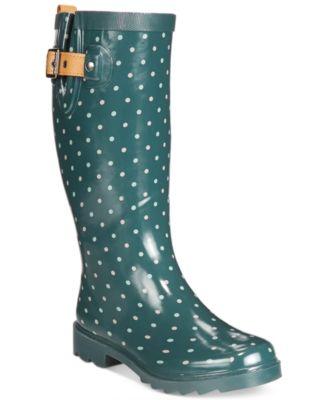 chooka rain boots chooka classic dot rain boots PEAJLQW
