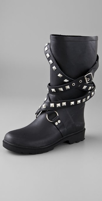 chooka rain boots chooka moto studded rain boots MOWRQKB