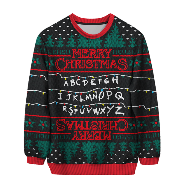 Have fun the christmas day with funny christmas jumpers
