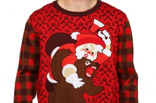 christmas sweaters bear christmas sweater SYHRDGQ