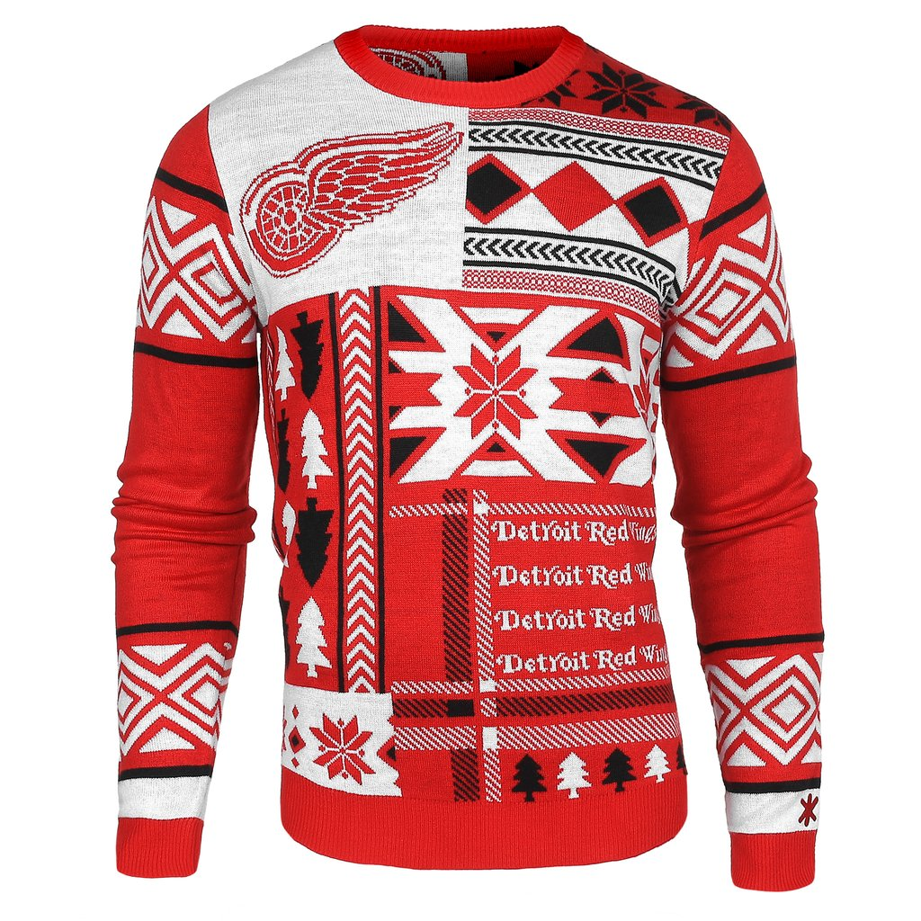 christmas sweaters detroit red wings ugly christmas sweater nhl gift ideas XVLQTHU