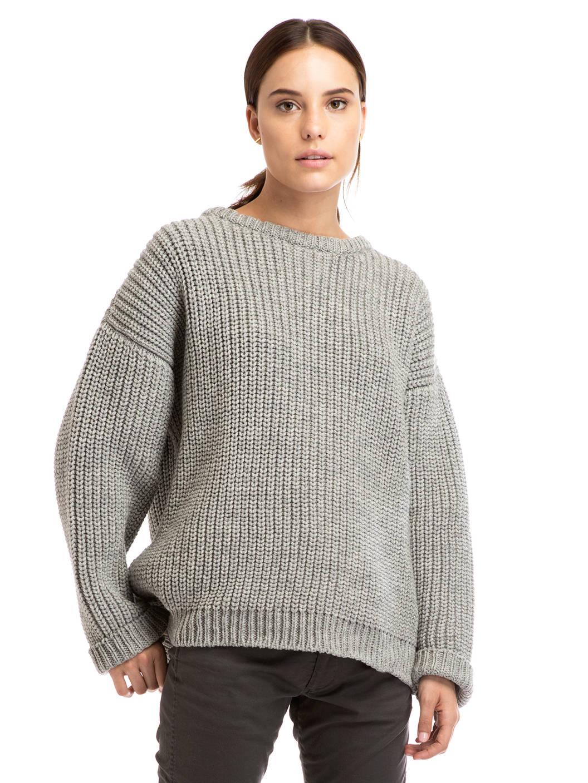 chunky sweater .09 grey chunky knit sweater found on zady - www.zady.com/ HWJTEKR
