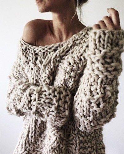 chunky sweater 100+ fall outfit ideas to copy. chunky knit sweatersbig ... VDOLEPM