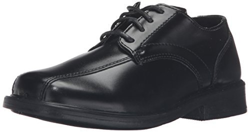 church shoes deer stags gabe lace-up dress shoe (toddler/little kid/big kid),black,6 m  us big kid JVBCKNQ