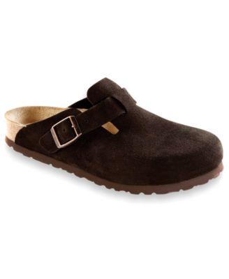 clogs for men birkenstock menu0027s boston soft footbed clogs UOPXTWV
