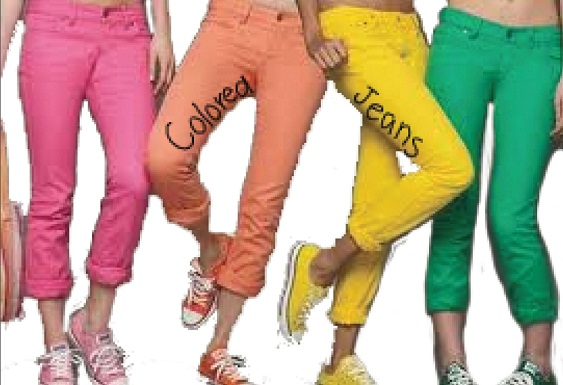 colored jeans color is taking over spring with a vengeance this year as different colored  jeans SUDMZTX