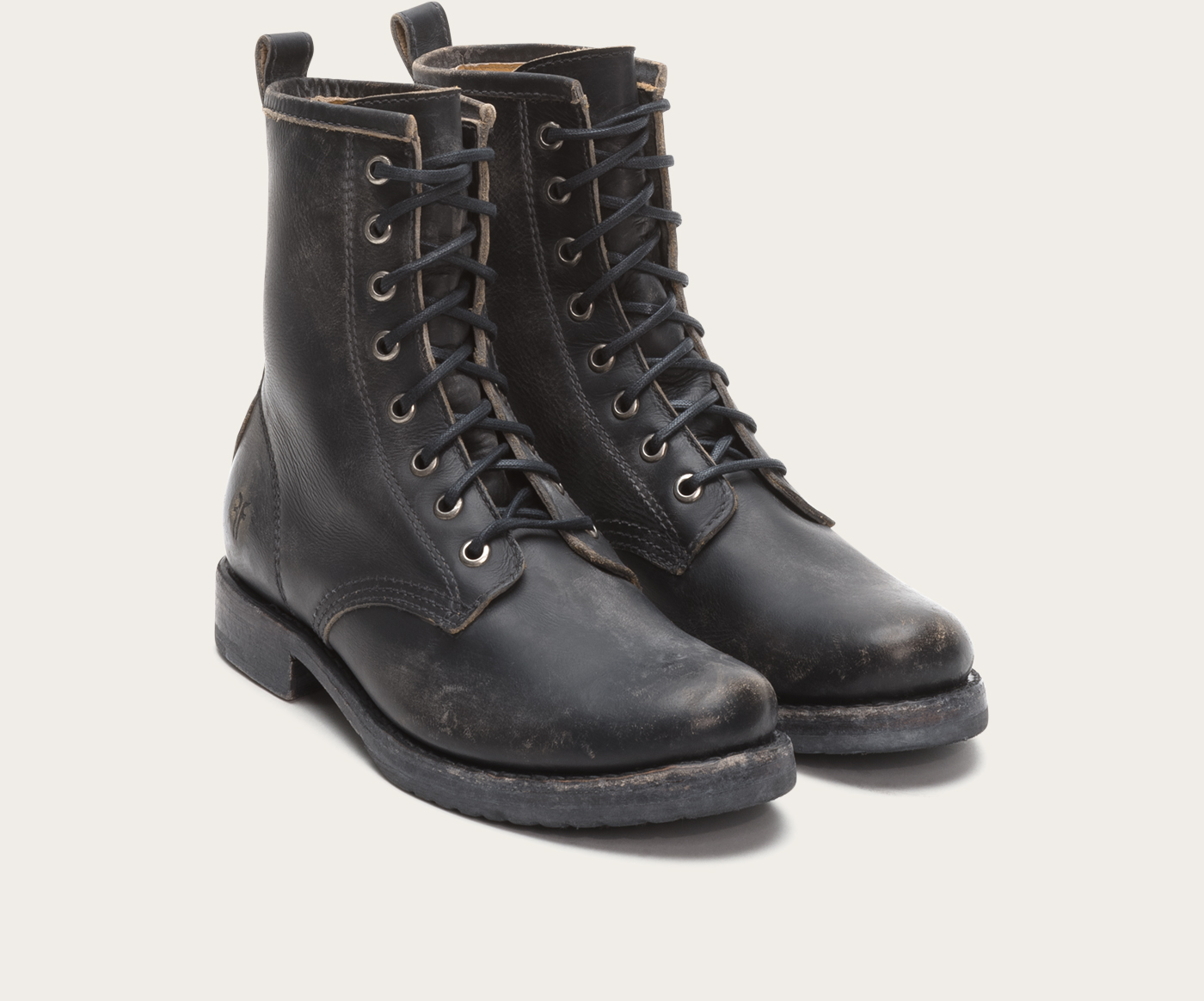 Military style: combat boots
