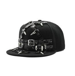 cool hats rebel flat cap with straps LHYBFIX