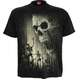 cool shirts menu0027s wax skull t shirt BDNCMZM