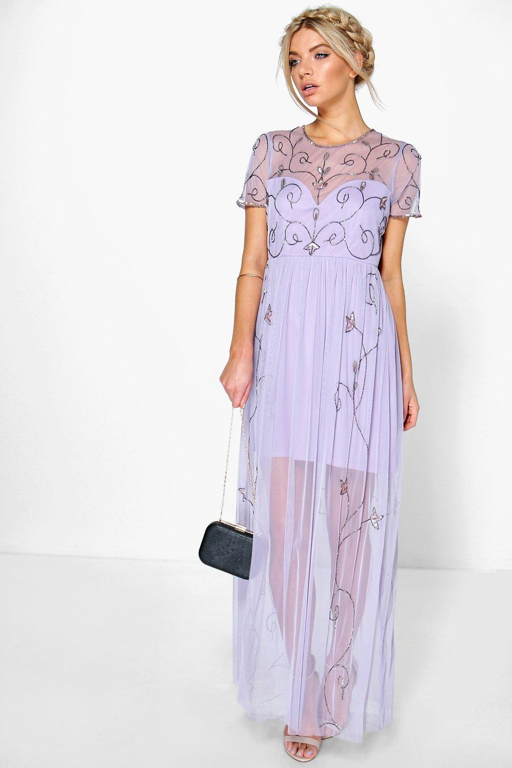 corine boutique embellished maxi dress. hover to zoom TAEWRGG