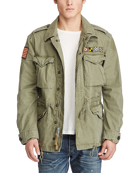 cotton canvas military jacket. continue shopping. close TSHKEGM