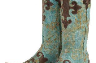 cowgirl boots lane boots womenu0027s u0027dawsonu0027 cowboy boots - turquoise/ brown TNQHRFF