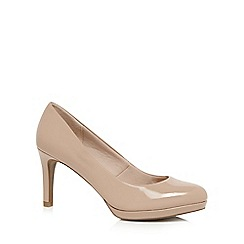 cream shoes the collection - cream patent high stiletto heel court shoes WKTLAFB