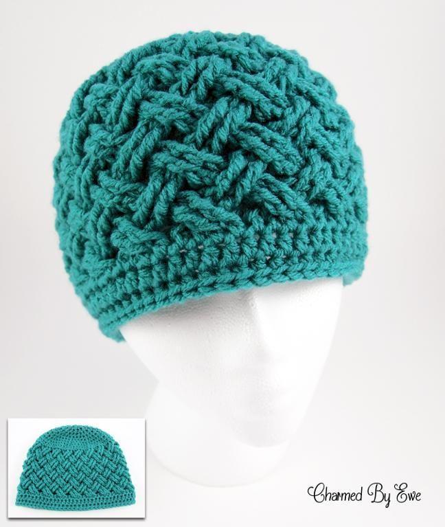 crochet hat 12 last-minute, one-skein only crochet christmas presents KQSSHGM