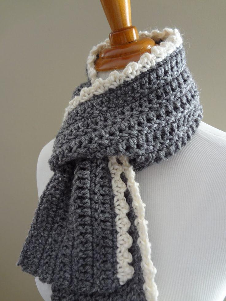 crochet scarf crochet+scarf+pattern+beginner | free crochet pattern...ingrid scarf DOMUCEP