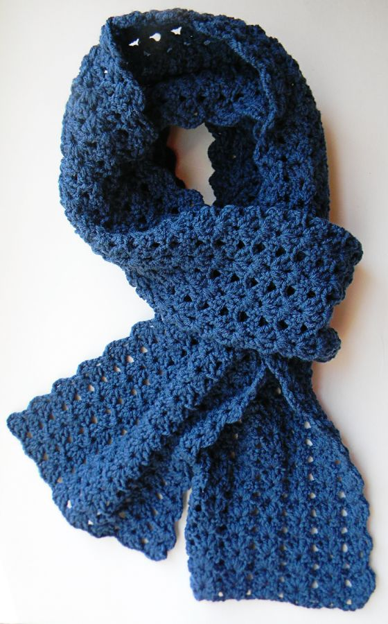 CROCHET SCARF FOR ALL THE SEASONS