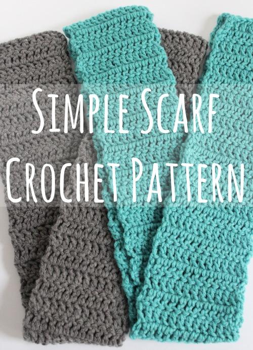 crochet scarf simple scarf crochet pattern makeandtakes.com MOMYCED