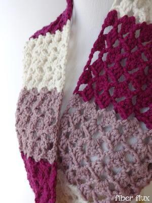 crochet scarf striped raspberry crochet infinity scarf IFSSEQP