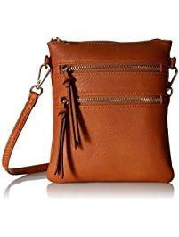 crossbody purses functional multi pocket crossbody bag NAVXXDS