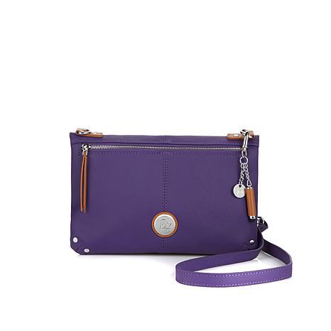crossbody purses joy leather foldover crossbody bag with rfid protection OCZMTIQ