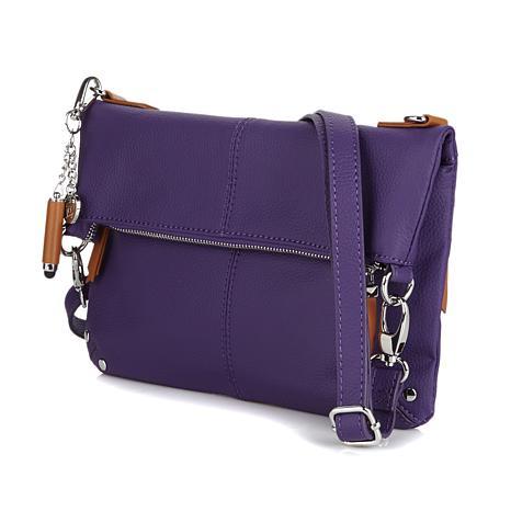crossbody purses ... joy leather foldover crossbody bag with rfid protection ... VXUJTQY