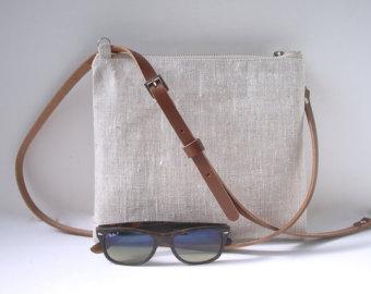 crossbody purses simple crossbody bag, crossbody purse, linen crossbody bag ECFEYML