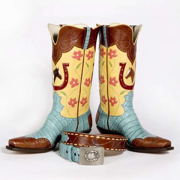 custom boots $6,000 cowboy boots WGQCJYL
