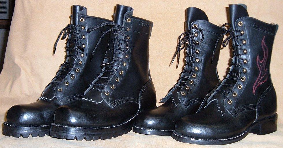 custom boots - his u0026 hers JGYTIZP