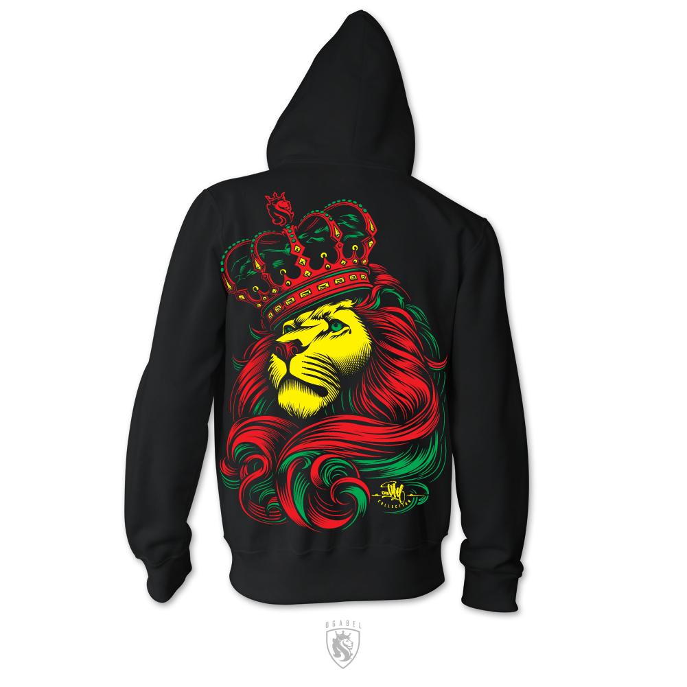 custom hoodies crown rasta custom hoodie KBMOYXV