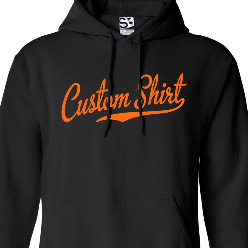 custom hoodies custom script u0026 tail baseball personalized hoodie RNXNKNS