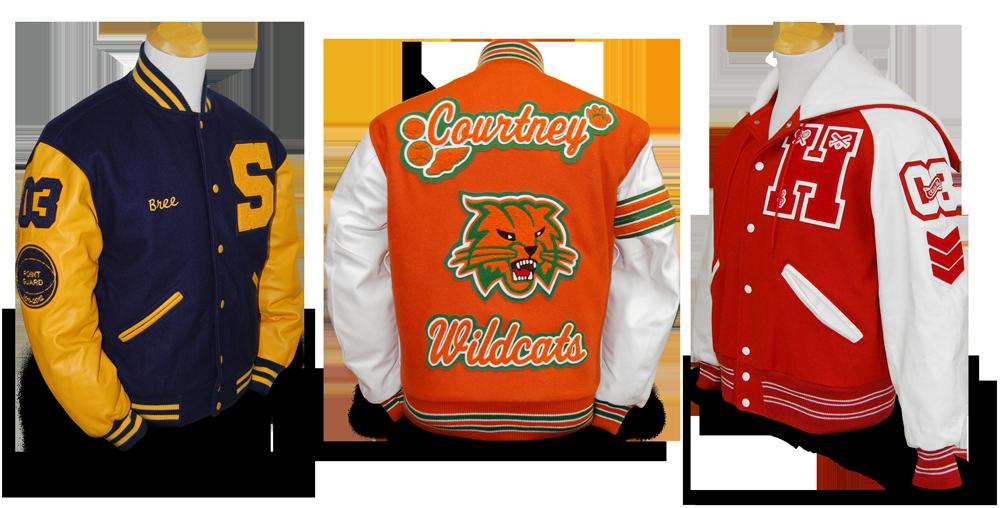 custom letterman jackets PPCOVPI
