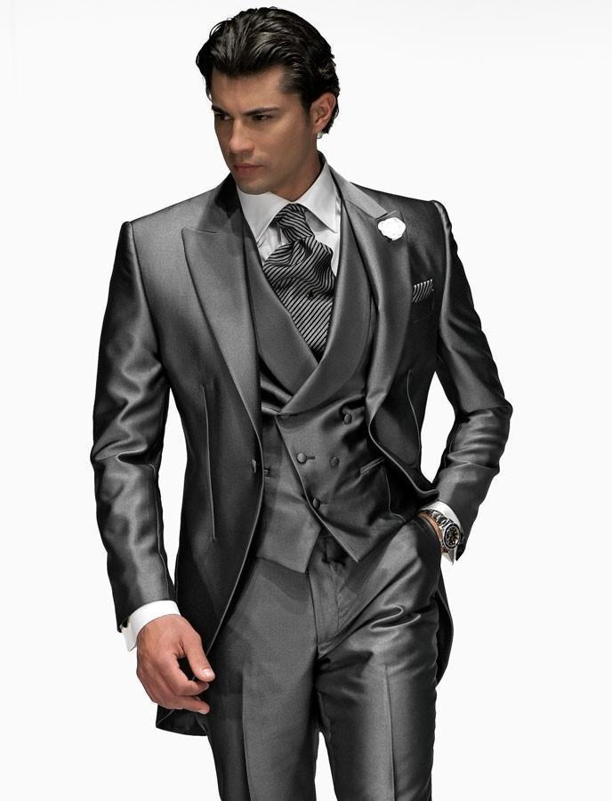 custom made men wedding suits groom tuxedos formal best man suit business  wear | YJZGYYJ