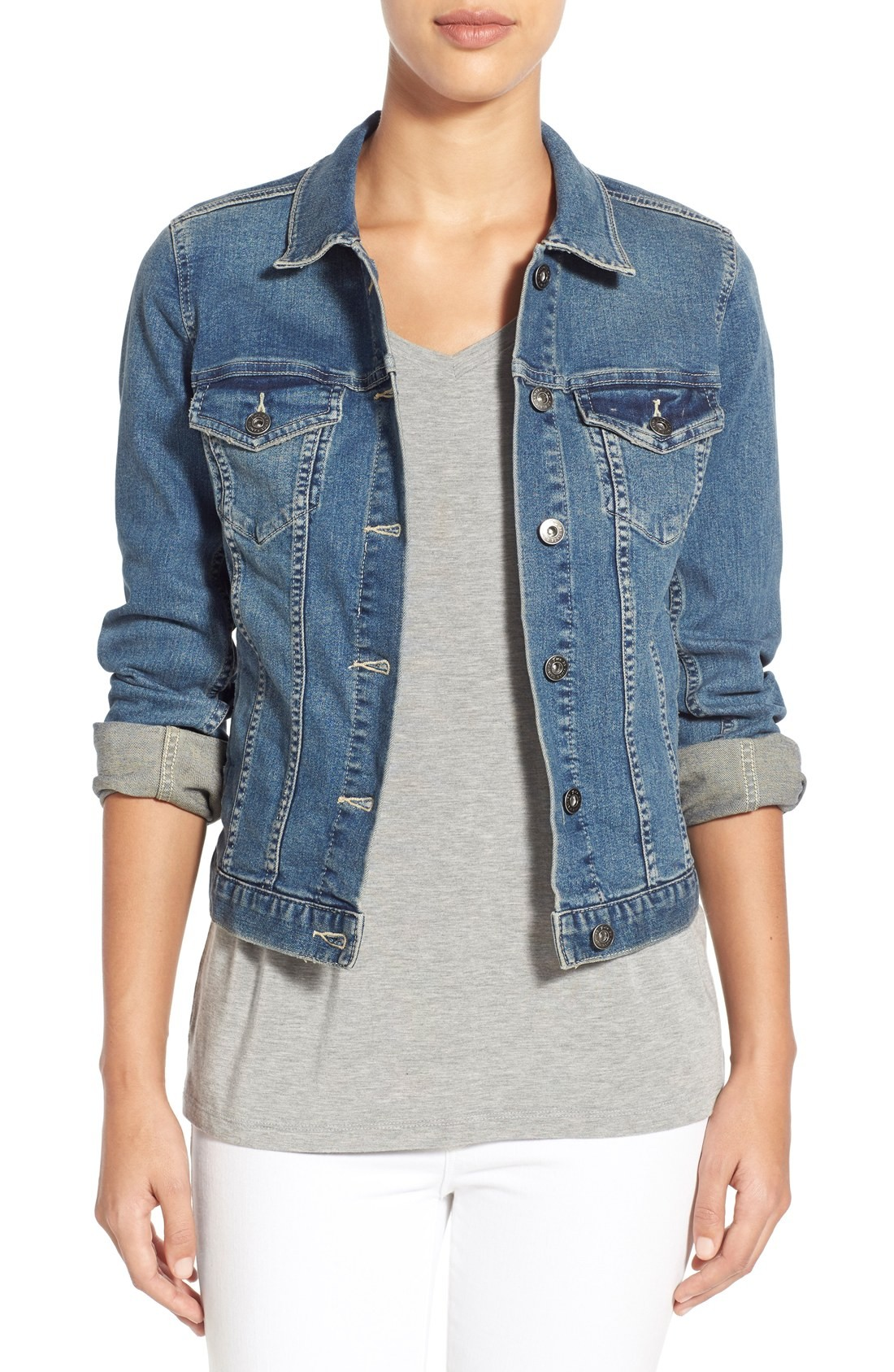 denim jackets for women denim coats u0026 jackets for women | nordstrom UXWXECG
