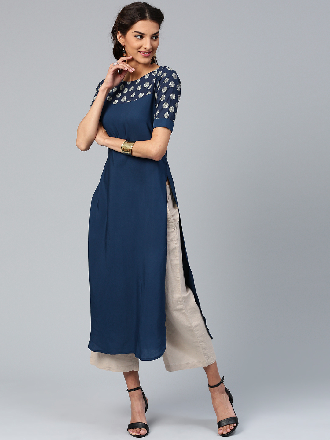 A great fusion of fashion and culture: the women's designer kurtis
