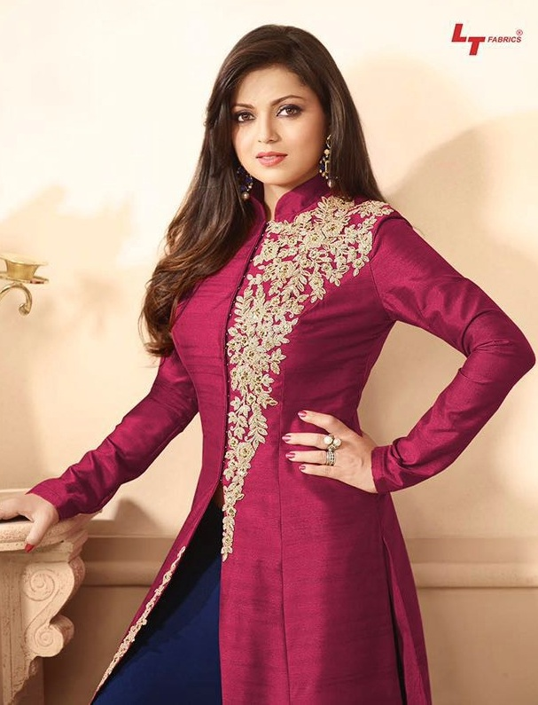 designer suits ... love to wear cotton salwar suits. it is very comfortable to wear in CDVGVPA