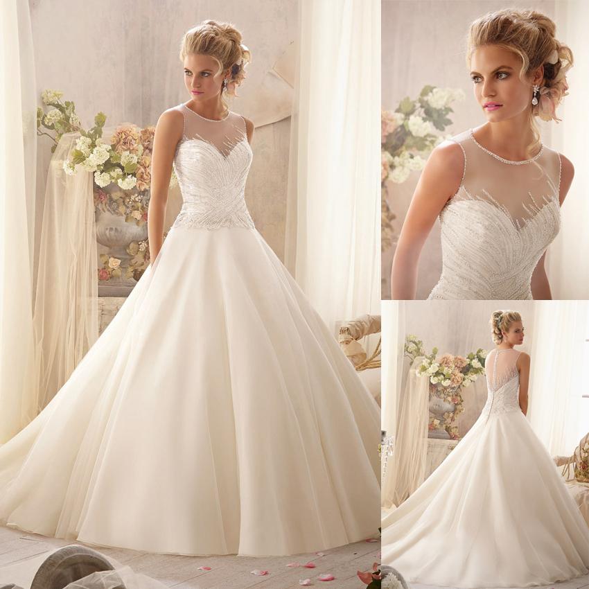 designer wedding gowns designers wedding dresses long train tulle 2014 in wedding dresses EAJXTNF