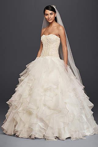 designer wedding gowns oleg cassini JKRDSXX