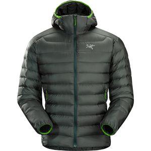 down jackets arcu0027teryx cerium lt hooded down jacket - menu0027s JCJVBBX